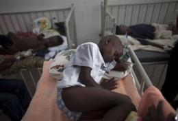 Cholera outbreak creeps closer to Haiti's capital (AP)