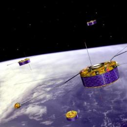 Cluster helps disentangle turbulence in the solar wind
