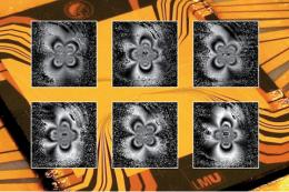 Cold atoms make microwave fields visible
