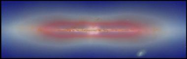 Missing Milky Way dark matter