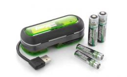 Energizer Duo USB battery charger