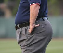 Food availability sees men put on a stone in weight
