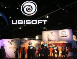 French games-maker Ubisoft has reported that its sales nearly doubled in the fiscal quarter that ended June 30
