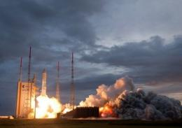 French space group Astrium last year sold seven telecommunications satellites