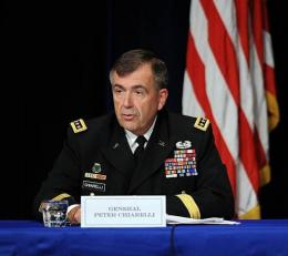 General Peter Chiarelli, vice chief of staff, US army