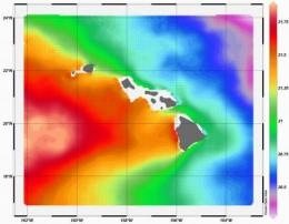 Generating energy from ocean waters off Hawaii