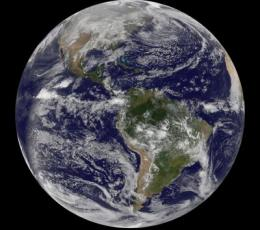 GOES satellites watch 2011 approach, look back at 2010