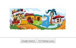 Google pays tribute to the Flintstones