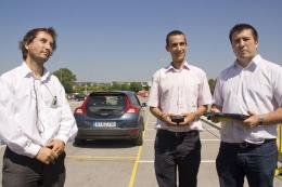 New system helps locate car park spaces