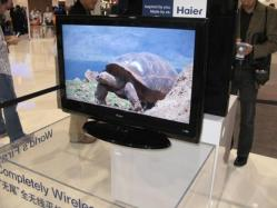 Haier 'completely wireless' TV