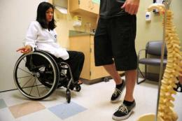 Helping spinal injury patients move forward