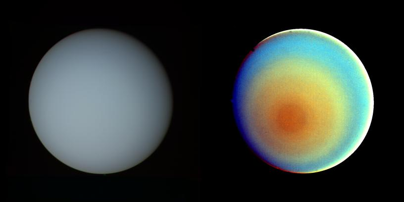 Uranus - By the Numbers   Planets - NASA Solar System ...