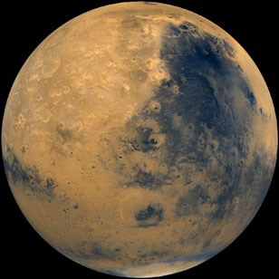 how much is the planet mars - photo #12