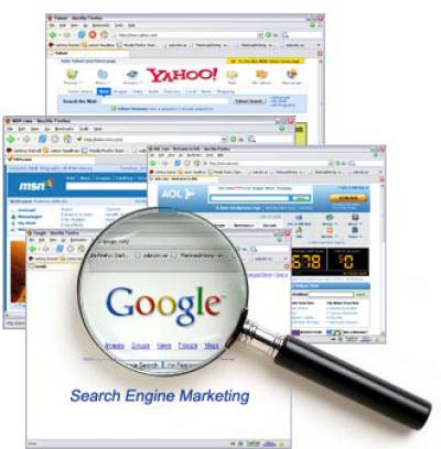 Research search engines