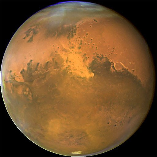 hubble telescope weird thing in mars - photo #11