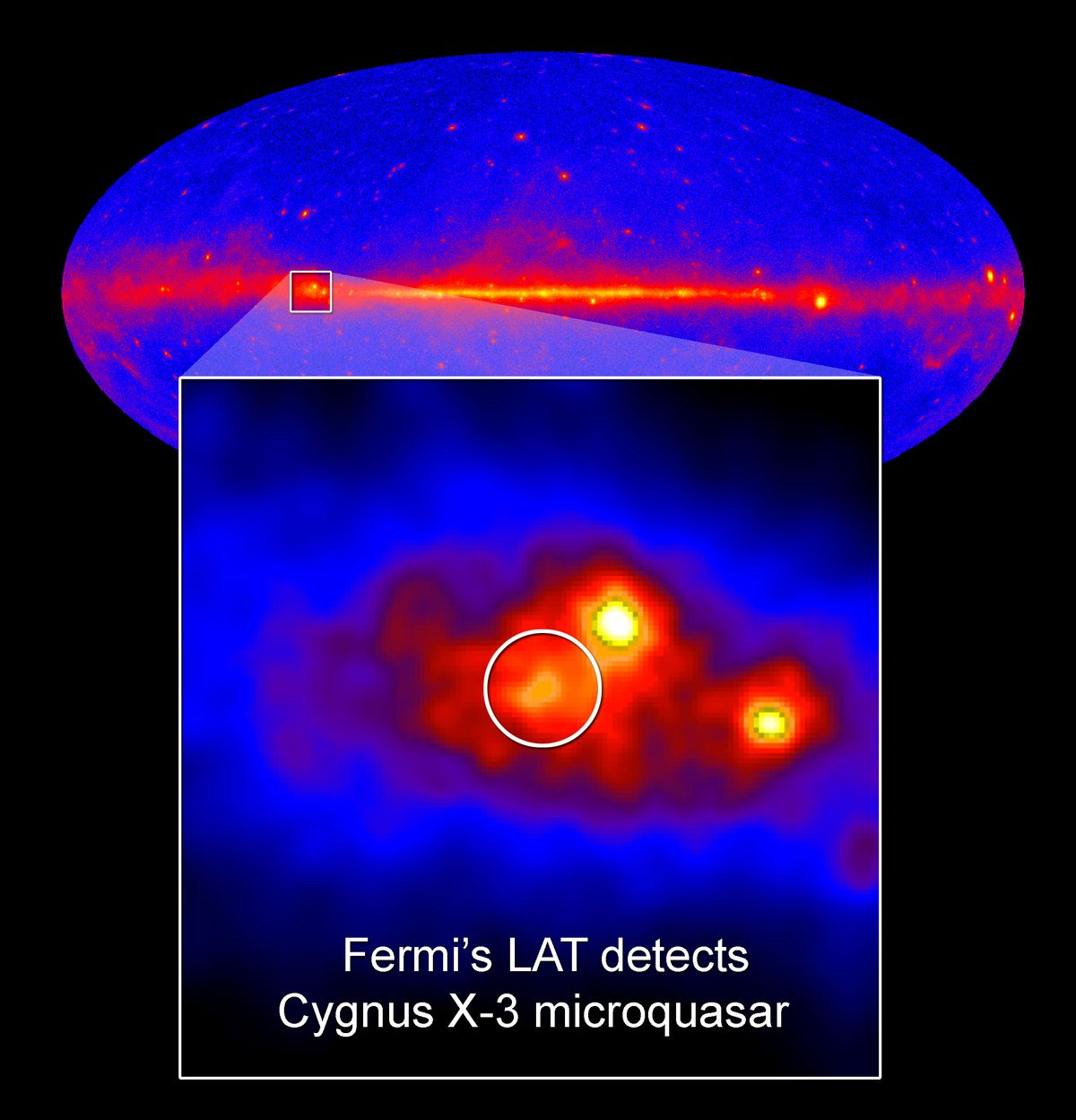 Fermi Telescope Discoveries Fermi Telescope Peers Deep
