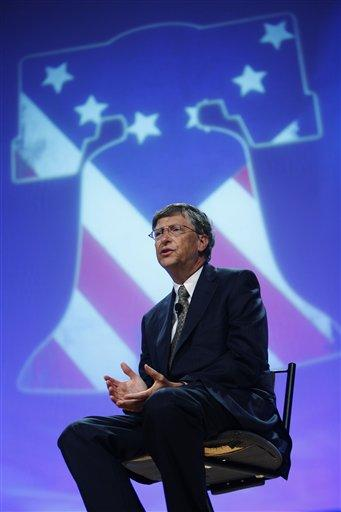 Microsoft co-founder Bill Gates makes remarks at the National Conference of ...