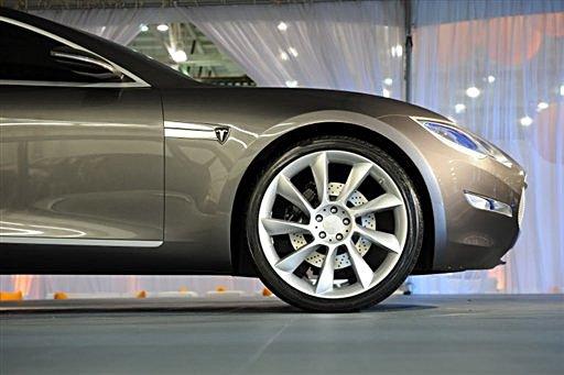 Tesla Motors Sedan. Tesla Motors says orders have