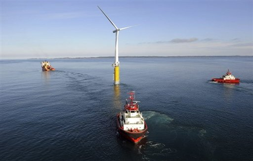 World 39 S First Floating Wind Turbine Opens In Norway