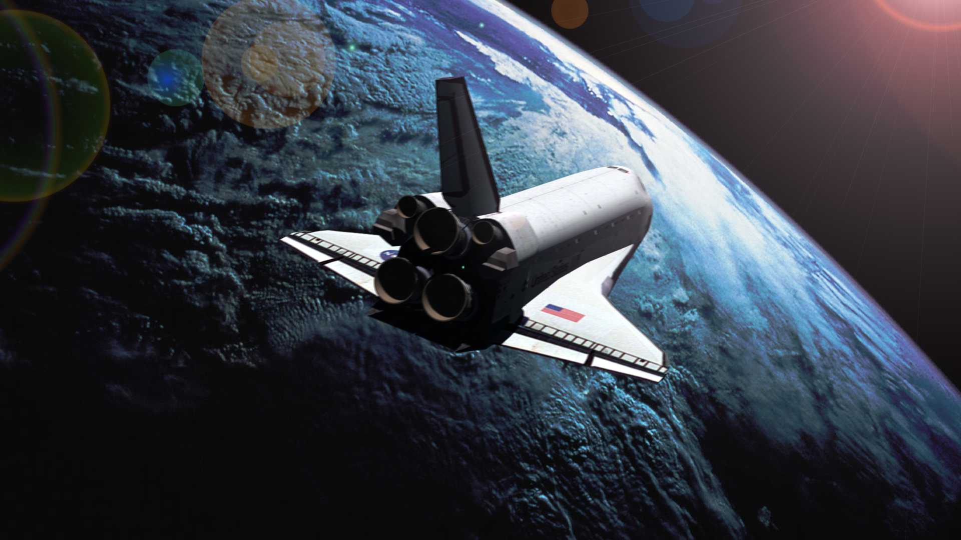 space shuttle endeavour orbiting - photo #3