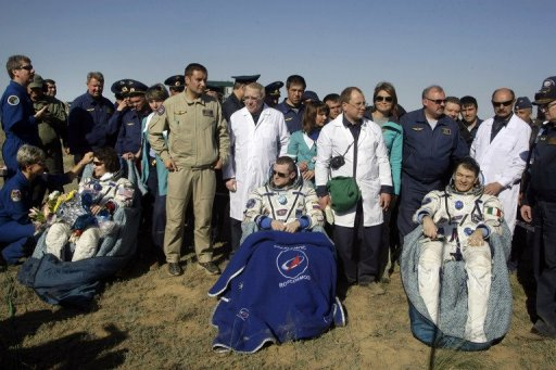 iss astronauts land - photo #9
