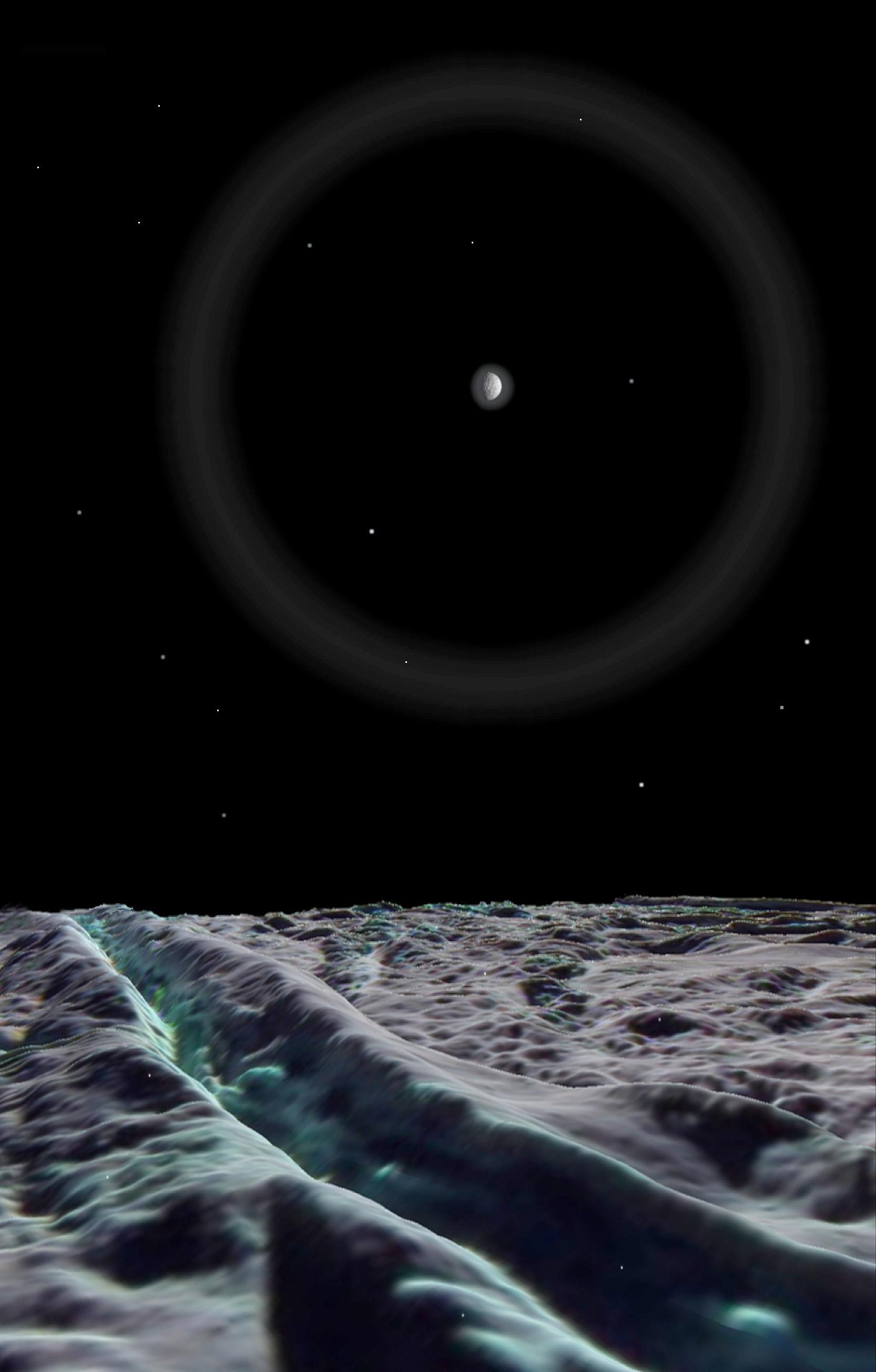 Enceladus Moon Surface The Surface of Enceladus