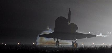 2nd last space shuttle lands; final on launch pad (Update)