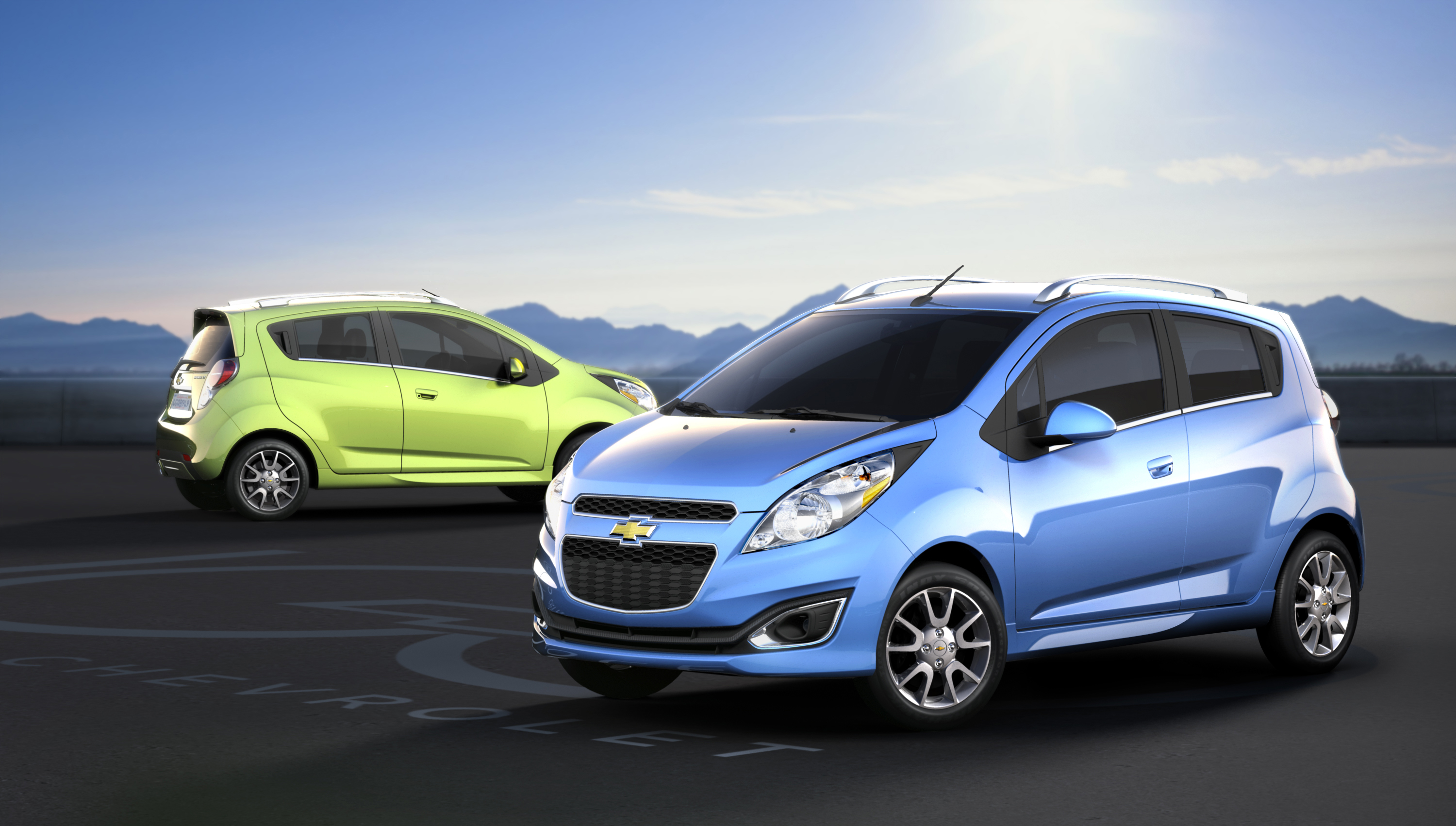 Spark Joins Chevrolet S U S Small Car Lineup In 2012