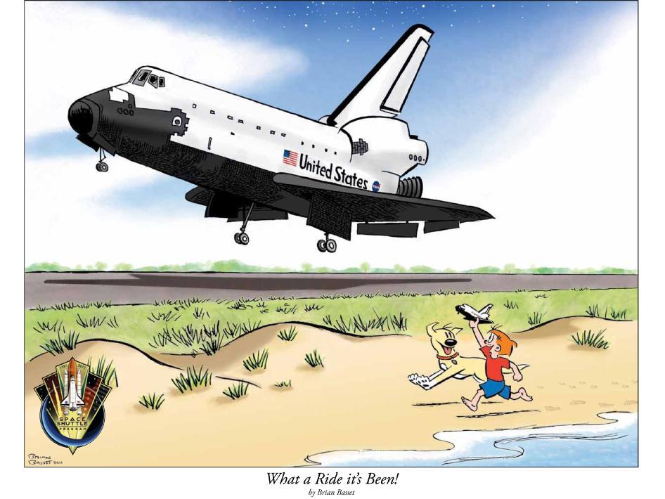 Space Shuttle Cartoon Space Shuttle Program