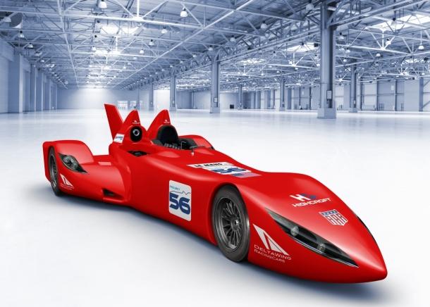 deltawing concept car to race at le mans. Black Bedroom Furniture Sets. Home Design Ideas