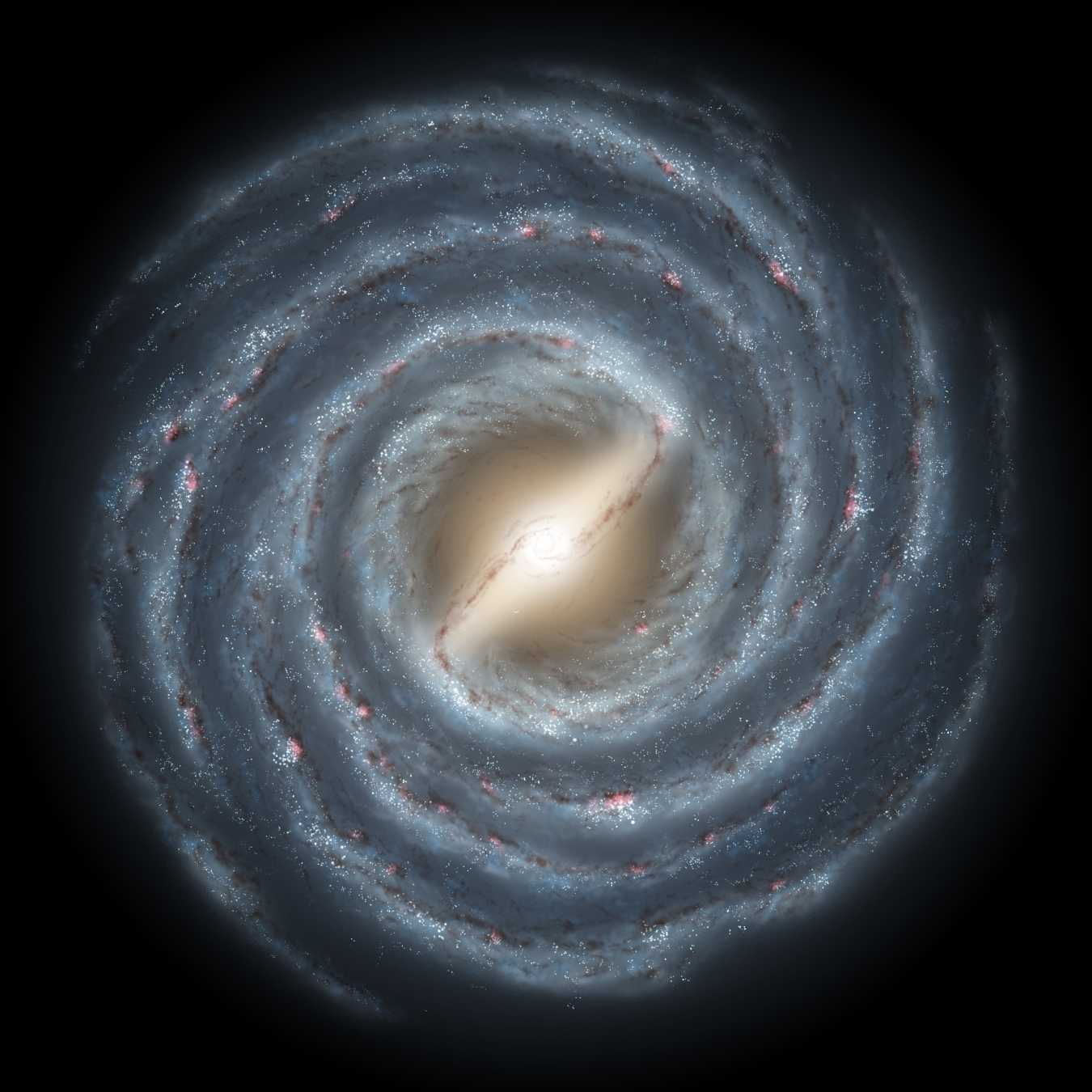 New Milky Way maps help solve stubborn interstellar material mystery