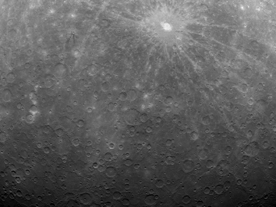 NASA công bố ảnh chụp bề mặt Thủy tinh