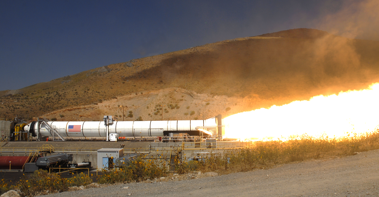 NASA Successfully Tests Five segment Solid Rocket Motor