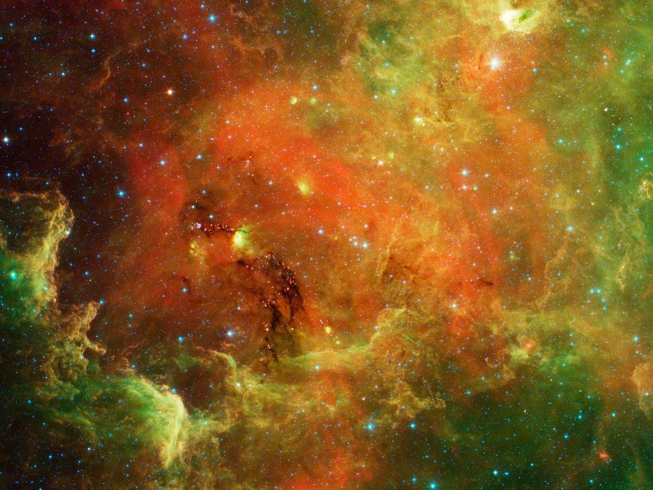 landscape space nebula - photo #11