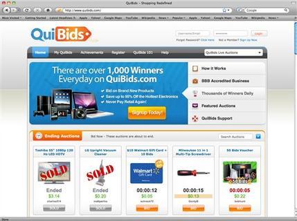 online penny auction sites
