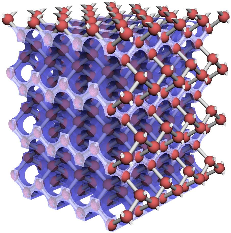 фотоника алмазной мембраны каждый цвет является