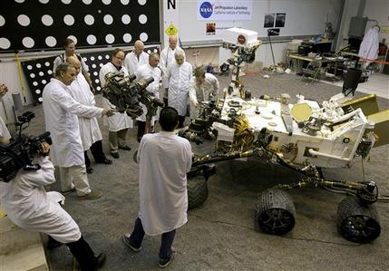 Scientists see red on NASA cuts of Mars missions