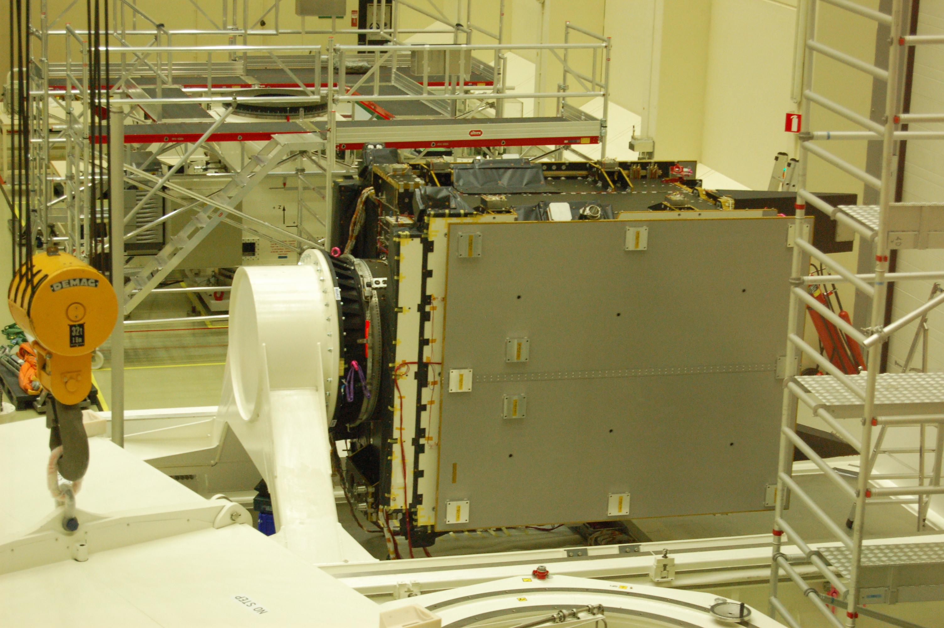 esa satellite structure - photo #2