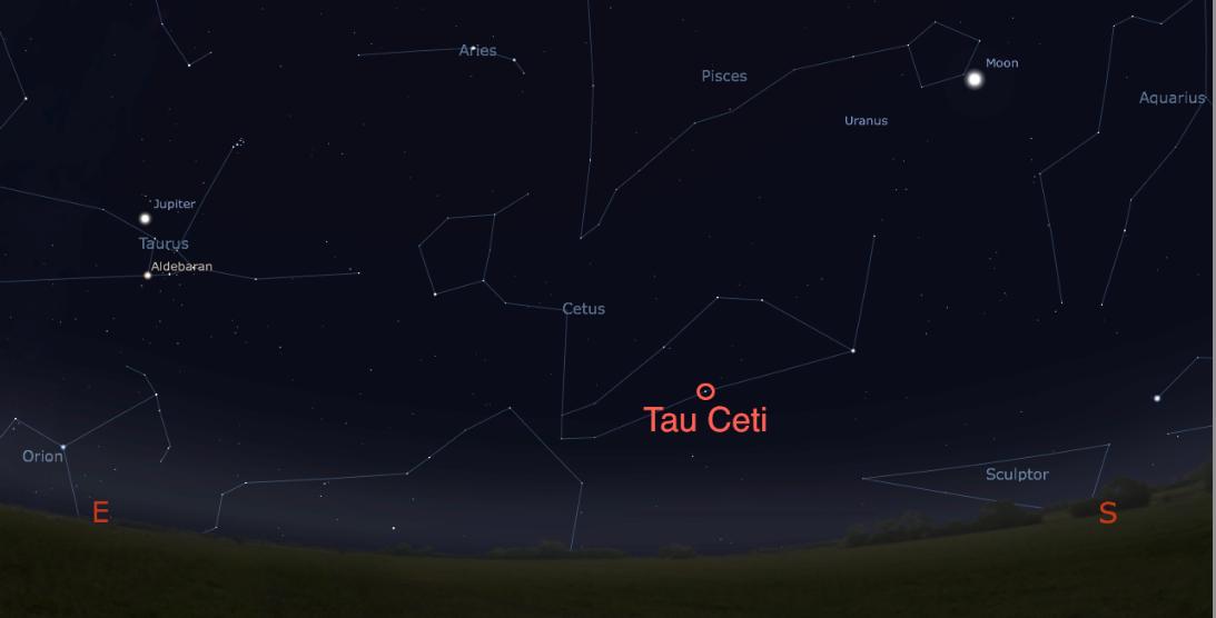 tau ceti solar system - photo #15