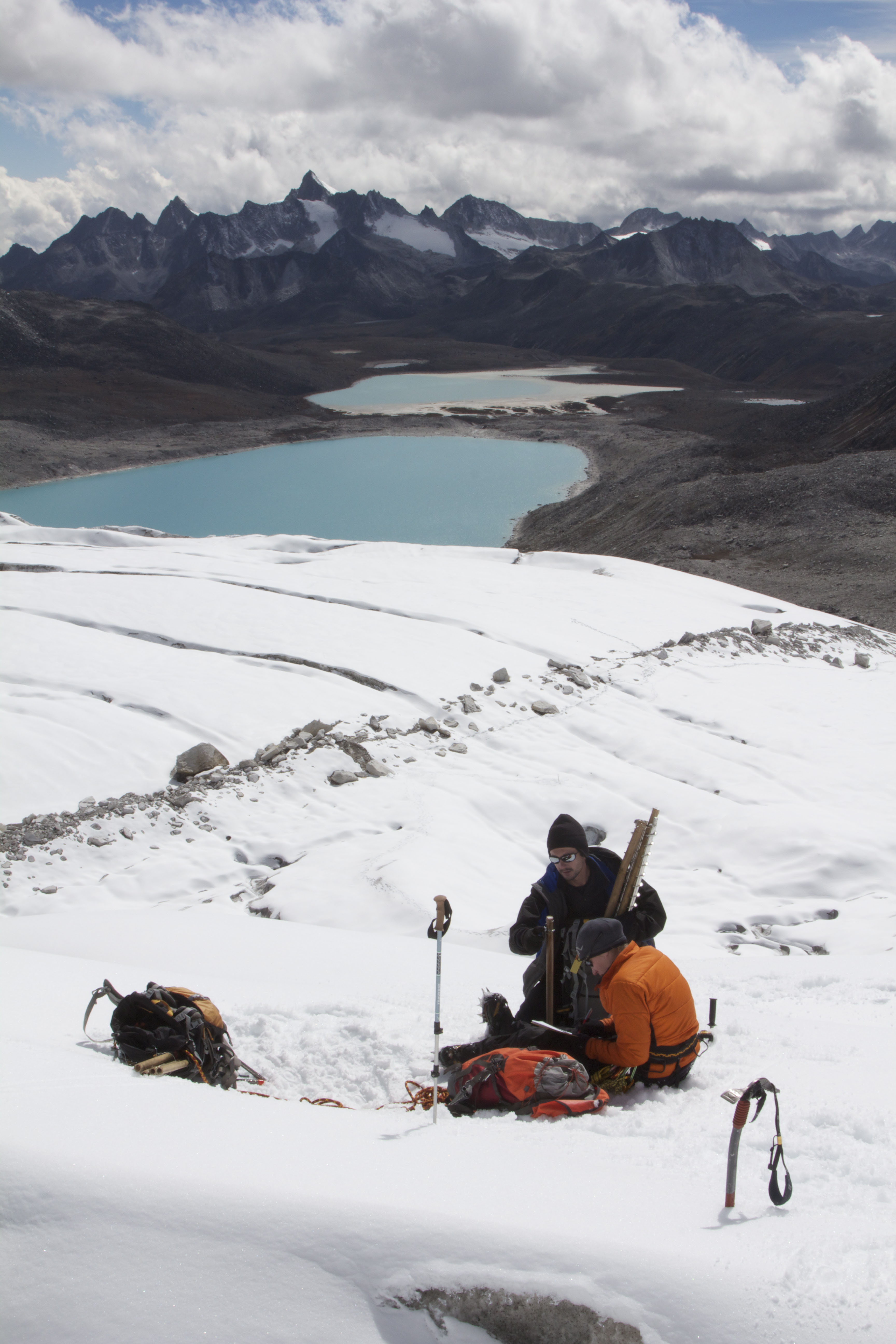 Deserts, glaciers and climate