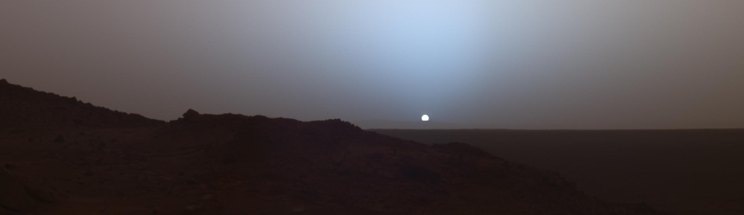 Mars Surface At Night