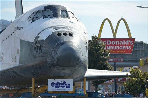 space shuttle endeavour california science center - photo #27