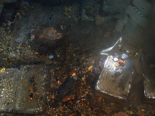 British Ship Sunk By U Boat Yields Haul Of Silver