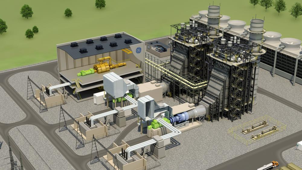 Ge Introduces Natural Gas Flexefficiency 60 Turbine