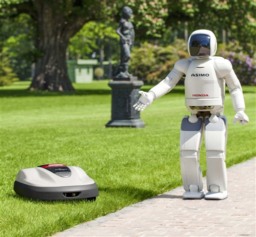 Honda Robotics Powers A Home Product Lawn Mower
