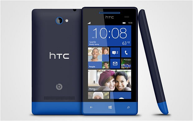 8X and 8S: HTC launches Windows-powered smartphones