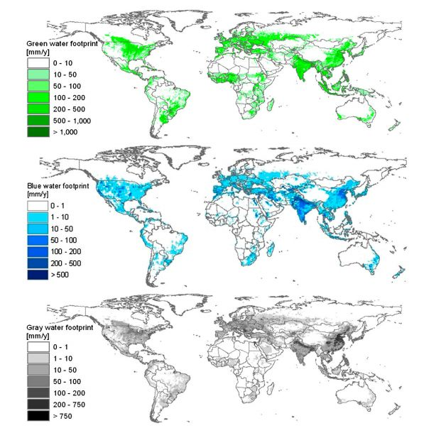 Research Duo Maps Worldwide Water Footprint With High