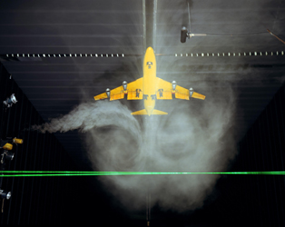 Improved wind tunnel testing of aircraft models