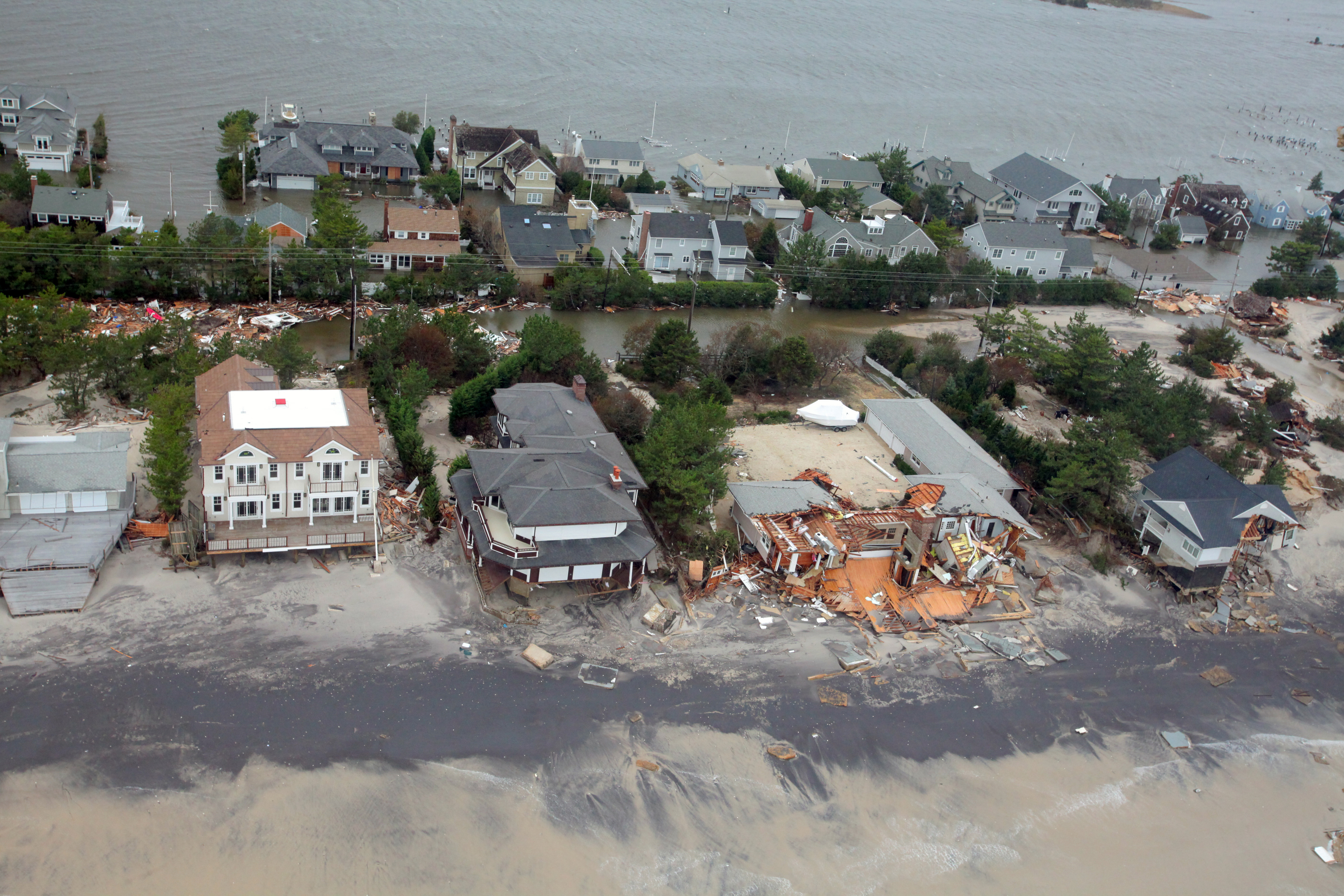 scientists attribute devastation by hurricane sandy Hurricane sandy was the deadliest and most destructive hurricane of the 2012  atlantic hurricane season inflicting nearly $70 billion (2012 usd) in damage, it  was the second-costliest hurricane on  although noaa meteorologist martin  hoerling attributes sandy to little more than the coincidental alignment of a  tropical.