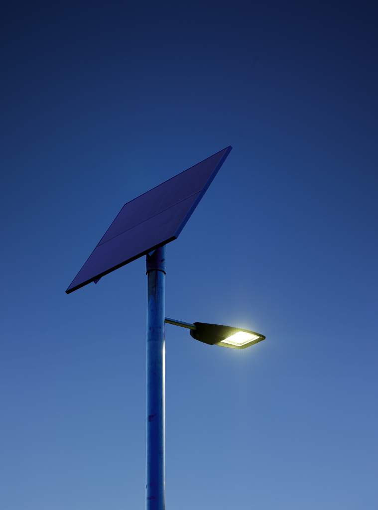 Philips Solar Wall Lights : Philips develops efficient solar powered LED street lighting